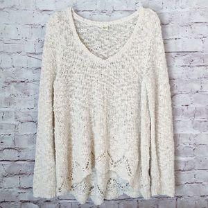 ANTHROPOLOGIE | YELLOW BIRD oversized sweater top